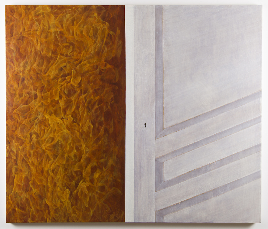Untitled (Fire, Door)